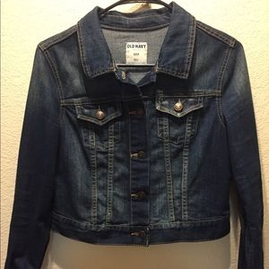 Old Navy Cropped Denim Jacket